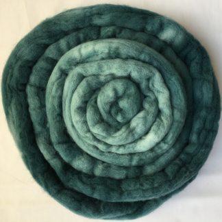 Evergreen wool roving