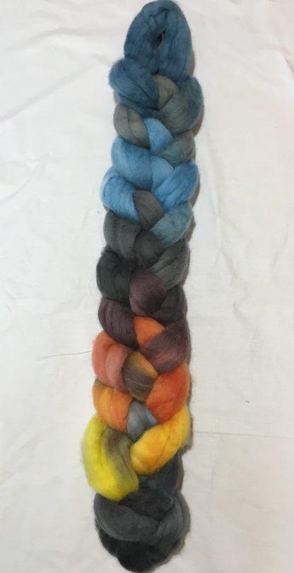 Sylvan Lake Sunset wool roving