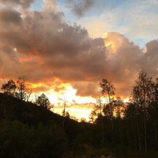 Sylvan Lake Sunset colorway
