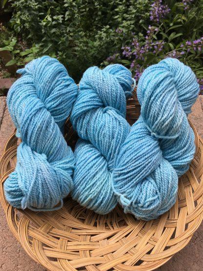 Dream Sky Blue worsted yarn