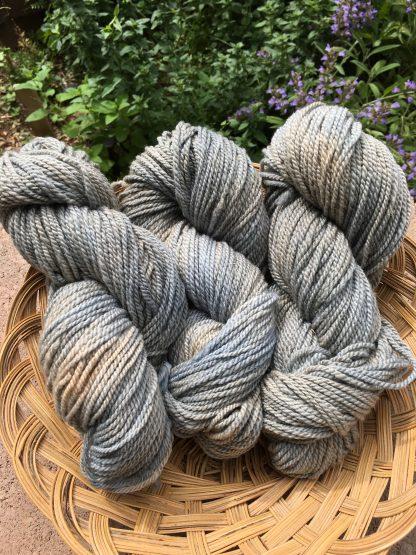 High Grey Cloud worsted weight yarn