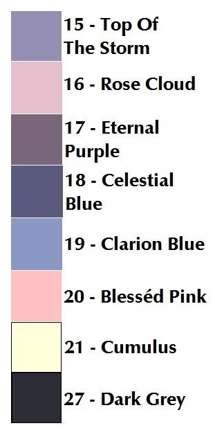 Sylvan Lake Storm color card