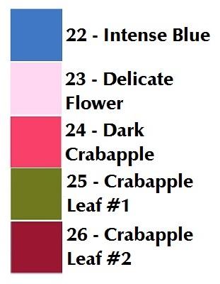 Crabapple Sky color card
