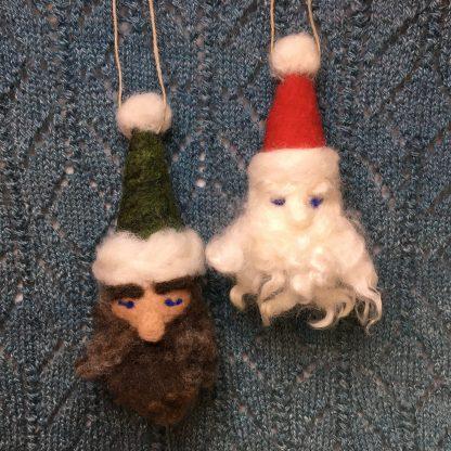 needle felted elf kit